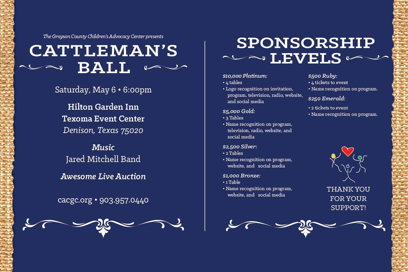 Cattlemans Ball - Lake Kiowa Realty